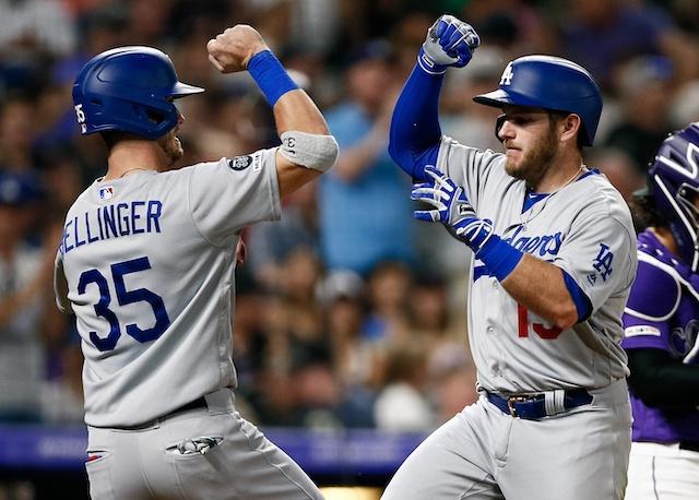 c1488ba8 Dodgers Highlights: Cody Bellinger, Max Muncy, Alex Verdugo, Justin Turner  & Kiké Hernandez All Homer In Win Over Rockies