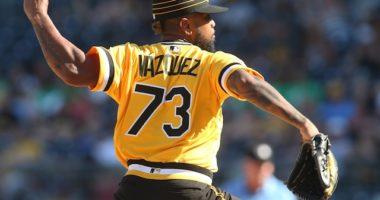 Pittsburgh Pirates relief pitcher Felipe Vazquez