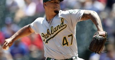 Former Los Angeles Dodgers prospect and Oakland Athletics pitcher Frankie Montas