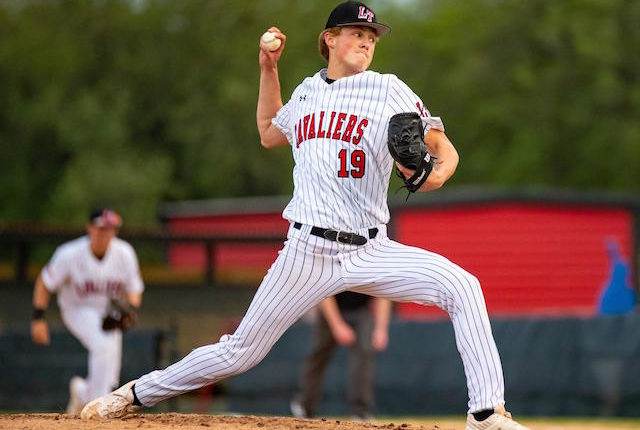 Lake Travis High School pitcher Jimmy Lewis drafted by the Los Angeles Dodgers
