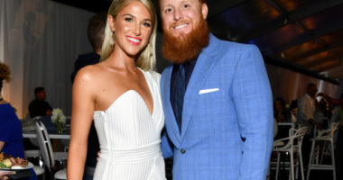 Justin Turner, Kourtney Turner, Los Angeles Dodgers Foundation Blue Diamond Gala