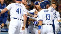 Matt Beaty, Cody Bellinger, Kyle Garlick, Clayton Kershaw, Max Muncy, Joc Pederson, Alex Verdugo, Dodgers walk-off win