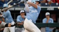 North Carolina infielder Michael Busch during the 2018 College World Series
