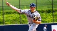 Butler University pitcher Ryan Pepiot selected by the Los Angeles Dodgers in the 2019 MLB Draft