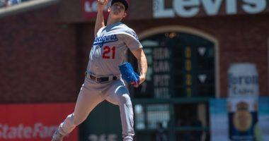 Los Angeles Dodgers starting pitcher Walker Buehler against the San Francisco Giants