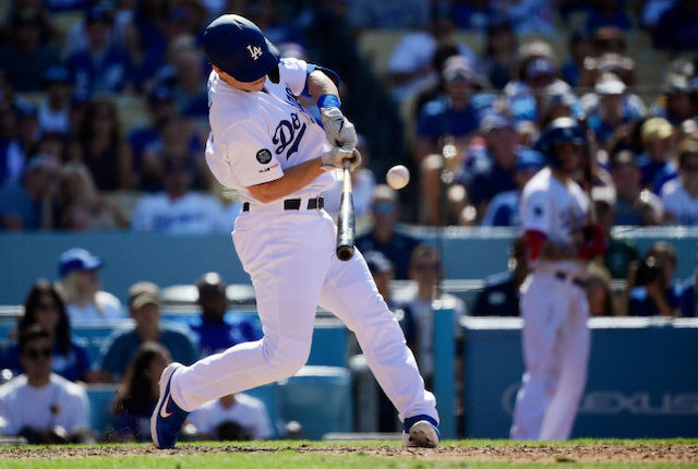 Los Angeles Dodgers catcher Will Smith hits a walk-off home run against the Colorado Rockies