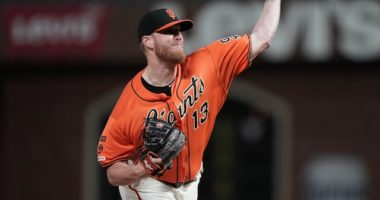 San Francisco Giants relief pitcher Will Smith