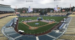 General view of Dodger Stadium during 2018 Dodgers All-Access