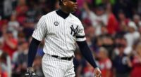 New York Yankees closer Aroldis Chapman finishes the 2019 MLB All-Star Game at Progressive Field