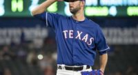 Texas Rangers relief pitcher Chris Martin