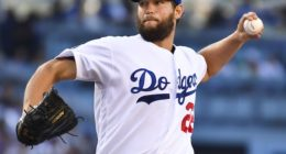 Los Angeles Dodgers starting pitcher against the Miami Marlins