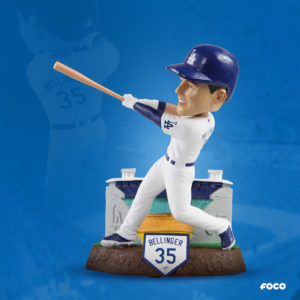 Los Angeles Dodgers right fielder Cody Bellinger thematic bobblehead