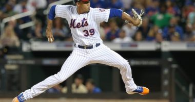 New York Mets closer Edwin Diaz