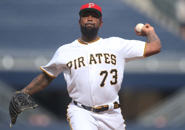 Pittsburgh Pirates closer Felipe Vazquez