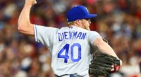 Kansas City Royals relief pitcher Jake Diekman