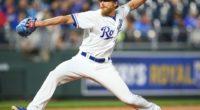 Kansas City Royals relief pitcher Jake Diekman
