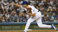 Los Angeles Dodgers relief pitcher Joe Kelly against the Arizona Diamondbacks