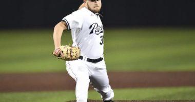 Dallas Baptist University pitcher Jordan Martinson