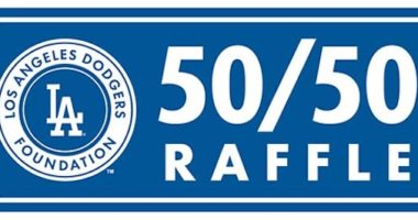 Los Angeles Dodgers Foundation 50/50 raffle