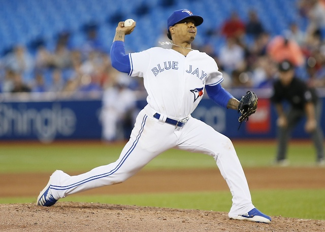 Toronto Blue Jays starting pitcher Marcus Stroman