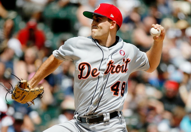 Detroit Tigers starting pitcher Matthew Boyd