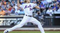 New York Mets starting pitcher Noah Syndergaard