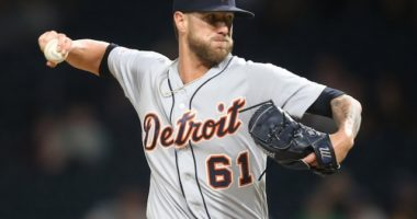 Detroit Tigers closer Shane Greene