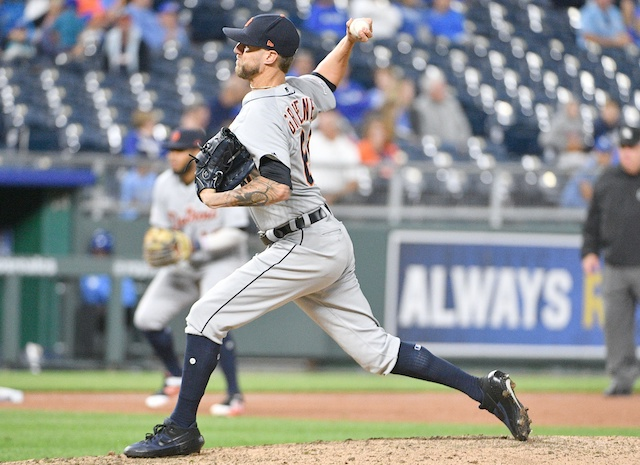 Dodgers Trade Rumors: Scouts Watched Tigers Closer Shane Greene, Who
