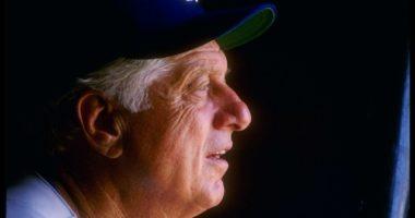 Former Los Angeles Dodgers manager Tommy Lasorda