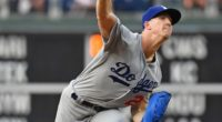 Los Angeles Dodgers starting pitcher Walker Buehler against the Philadelphia Phillies