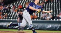 Tampa Bay Rays relief pitcher Adam Kolarek traded to Los Angeles Dodgers