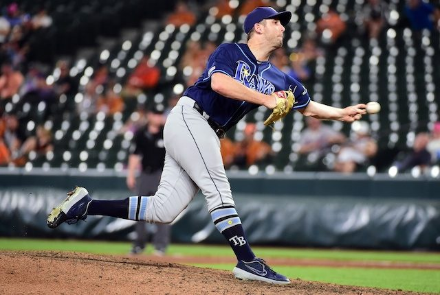 Tampa Bay Rays relief pitcher Adam Kolarek traded to Los Angeles Dodgers
