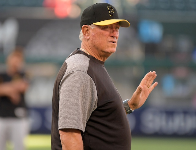 Pittsburgh Pirates manager Clint Hurdle