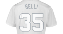 Los Angeles Dodgers All-Star Cody Bellinger, 2019 Players Weekend jersey