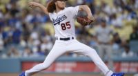 Los Angeles Dodgers pitcher Dustin May makes his MLB debut against the San Diego Padres