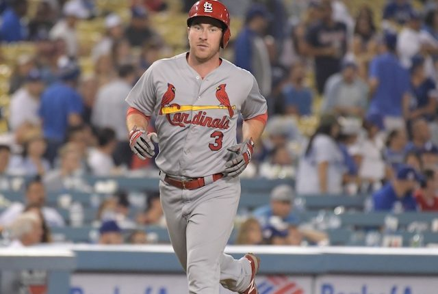 Former St. Louis Cardinals infielder Jedd Gyorko set to begin rehab assignment after being traded to the Los Angeles Dodgers