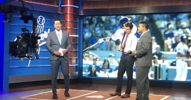 Nomar Garciaparra, Jerry Hairston Jr., John Hartung, SportsNet LA