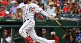 Washington Nationals third baseman Anthony Rendon