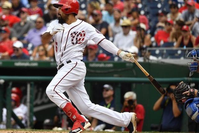 Washington Nationals third baseman Anthony Rendon