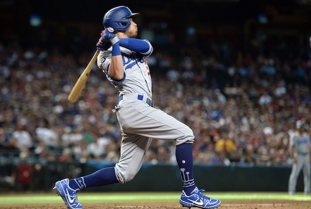 Los Angeles Dodgers All-Star Cody Bellinger hits a game-tying home run against the Arizona Diamondbacks