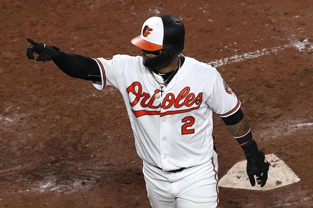 O's' Villar hits MLB's record-setting 6,106th HR