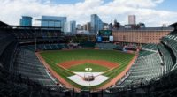 General view of Oriole Park at Camden Yards