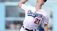 Los Angeles Dodgers pitcher Walker Buehler against the Colorado Rockies