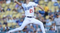 Los Angeles Dodgers pitcher Walker Buehler against the Colorado Rockies