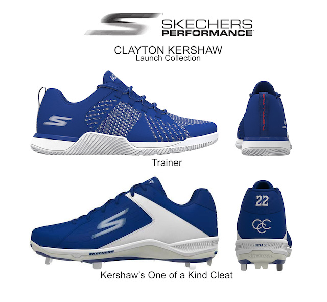 Los Angeles Dodgers pitcher Clayton Kershaw and Skechers announced a multi-year endorsement deal