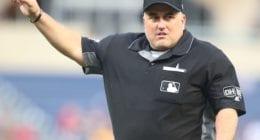 MLB umpire Eric Cooper