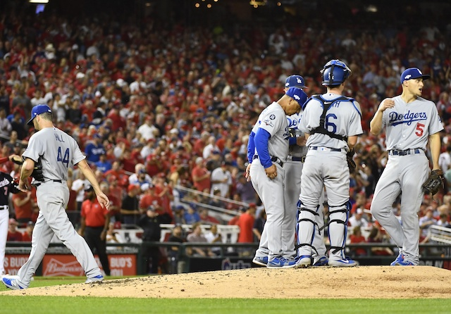 Dodgers blow lead then drop game five as season ends