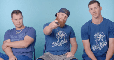 Los Angeles Dodgers teammates Walker Buehler, Joc Pederson and Justin Turner analyze baseball movies for GQ Sports