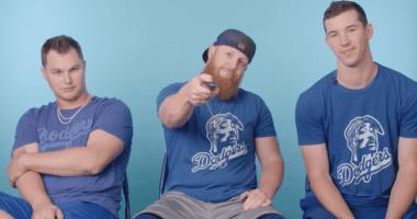 Los Angeles Dodgers teammates Walker Buehler, Joc Pederson and Justin Turner analyze baseball movies for GQ Sports