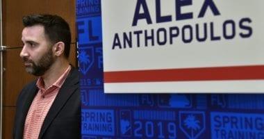 Atlanta Braves general manager Alex Anthopoulos